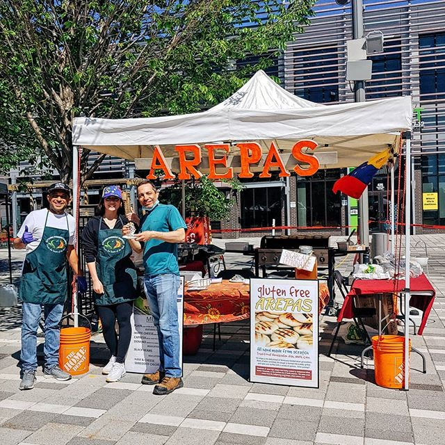 Hi #Ottawa!  This week's heatwave has us craving arepas from our vendor Arepas P